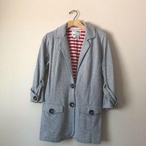 Tria Nordstrom 3/4 Sleeves grey blazer / coat